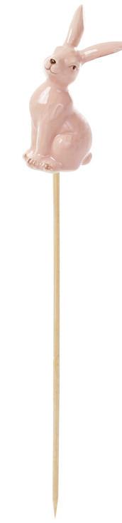 Керамический декор на палочке Кролик 3 вида, 28см (834-794)