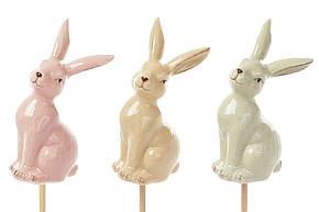 Керамический декор на палочке Кролик 3 вида, 28см (834-794), фото 2