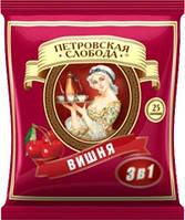 """Кава """"Петровська Слобода"""" 3в1 Вишня (1*25/20)"""