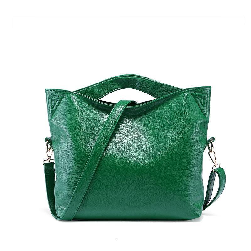 e26dd132c672 Зеленая / изумрудная кожаная сумка с золотой фурнитурой, копия мирового  бренда Dudu Bags - BestCases