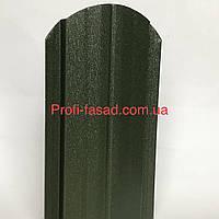 Штакетник матовый двухсторонний RAL 6020 105мм 115мм евроштакетник штакет