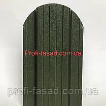 Штакетник матовый двухсторонний RAL 6020 105мм 115мм евроштакетник штакет, фото 3