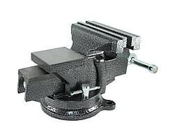 Тиски слесарные поворотные Polax 100 мм 25-099