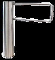 Турникет– калитка GATE-TS н/ж шлифованная, лопасть из трубы 650 мм. Функция сервопривод. , фото 1