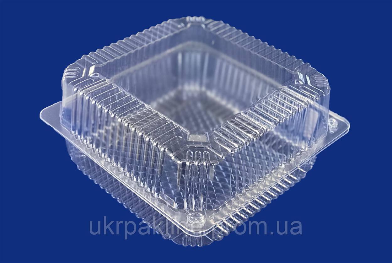 Одноразовый контейнер квадратной формы арт. 85