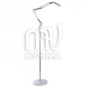 Лампа напольная кольцевая со светодиодной подсветкой MP-351 OLY на штативе (white)