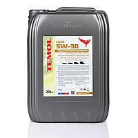 масло моторное для легковых автомобилей  5W-40 SN/SM/SL/CF канистра 20 лTEMOL LUXE 5W-40
