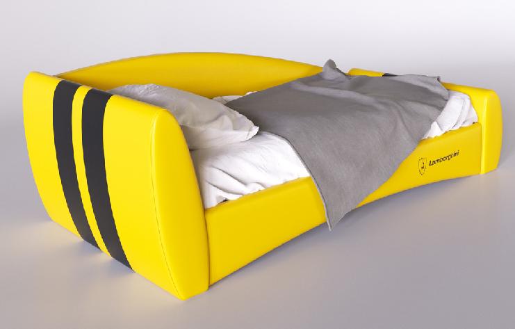 """Детская кровать """"Формула"""" lamborghini"""