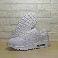 1a1aec4c5b8c Кроссовки подростковые Nike Air Max 90 White 819685-302 (Реплика, Топ  качество)