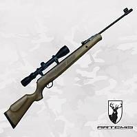 Пневматическая винтовка Artemis GR1600W с Газовой пружиной + Глушитель + ПО 3-9x40, фото 1