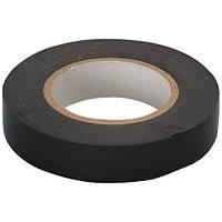 Изолента ПВХ 19 мм х 20 м черная Сибртех 88794