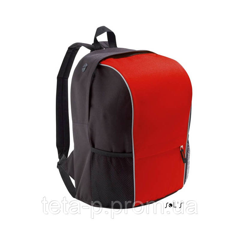 Рюкзак из полиэстера 600d - светоотражающая окантовка SOL'S JUMP