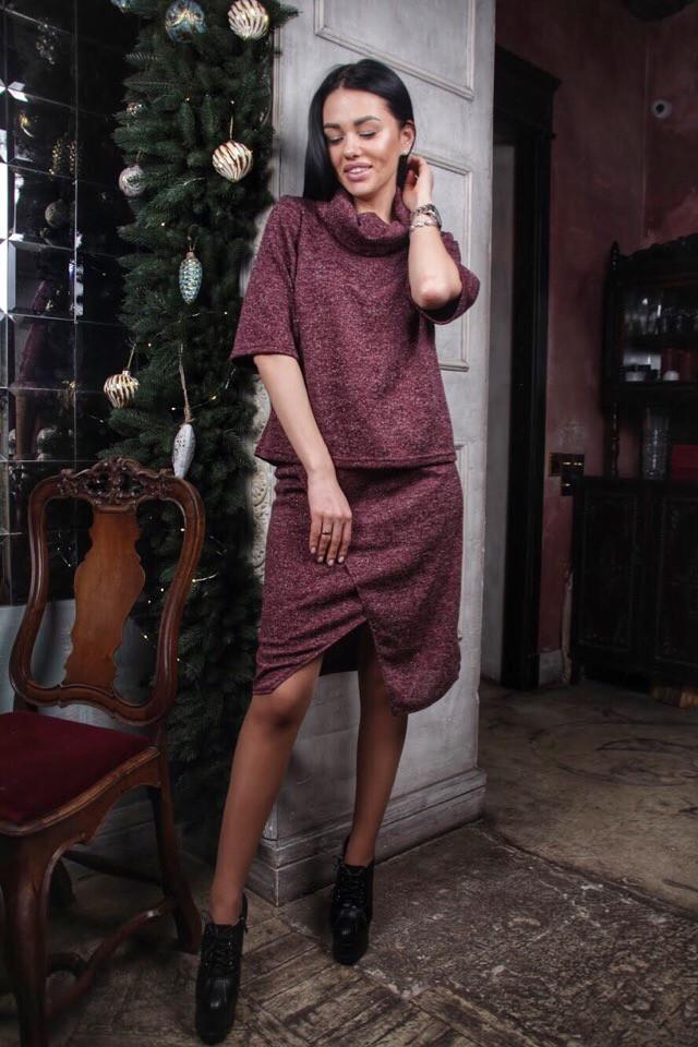 Женский стильный костюм АК2250