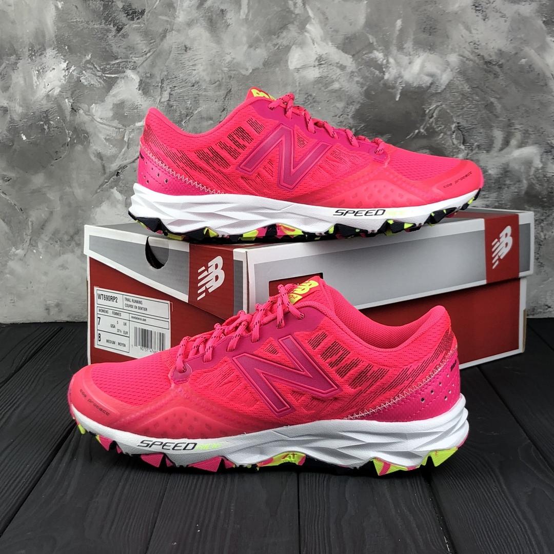 Женские кроссовки New Balance 690 Pink. Оригинал. Нейлон. Подошва резина
