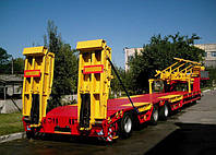ВАРЗ-НПВК 3811  3-осный полуприцеп-тяжеловоз (комбайновоз) грузоподъемностью 37 200 кг.