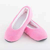 Тапочки балетки рожево білі 36-37_склад, фото 1