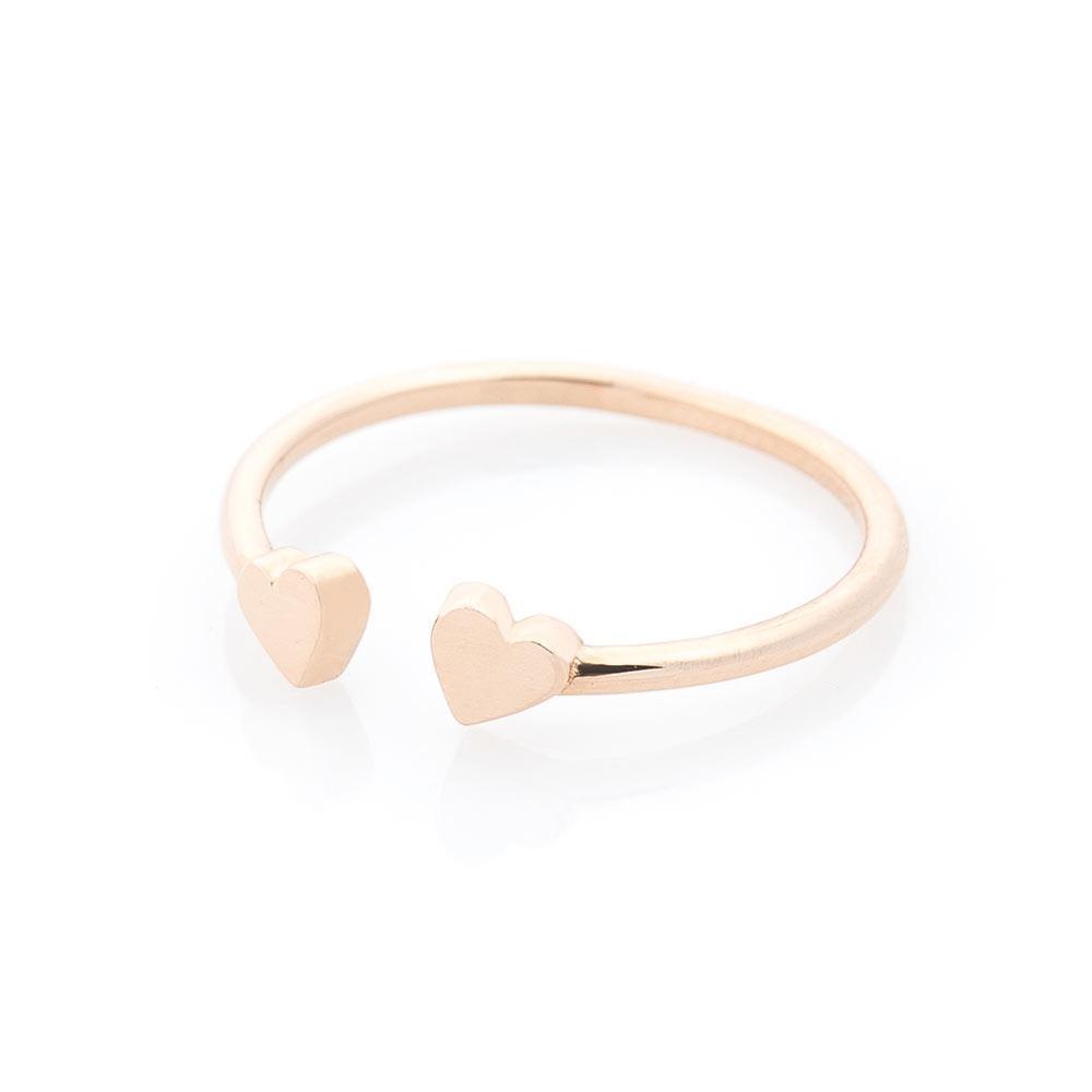 """Золотое кольцо """"Сердца"""" гк05544"""