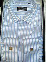Рубашка  Gino di Milano мужская  классическая  40 и 42 ворот, фото 1