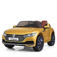 Электромобиль детский M 3993(MP4)EBLRS-6 Volkswagen Автопокраска желтый Гарантия качества Быстрая доставка, фото 1