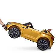 Электромобиль детский M 3993(MP4)EBLRS-6 Volkswagen Автопокраска желтый Гарантия качества Быстрая доставка, фото 4