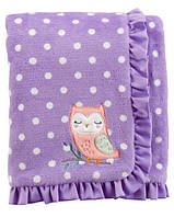 Плюшевый плед Совушка Картерс Owl Plush Blanket
