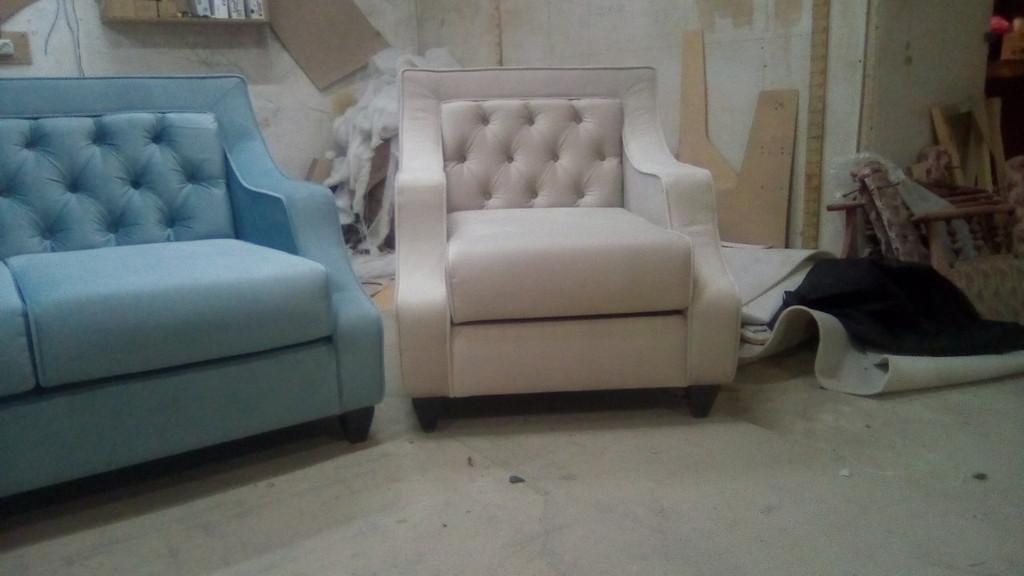 Диван + 2 крісла по дизайнерському проекту. 4