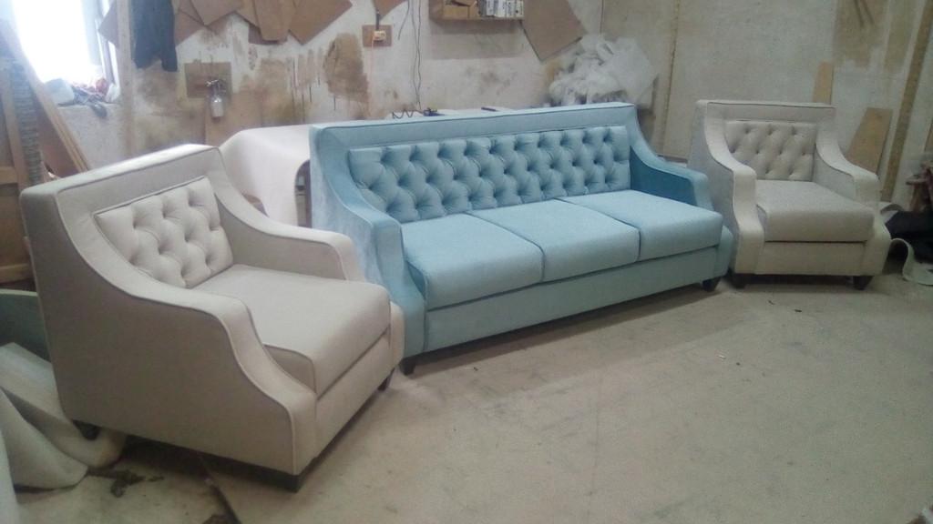 Диван + 2 крісла по дизайнерському проекту. 7