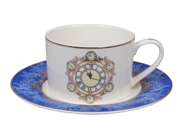 Чайные пары, чашки с блюдцем
