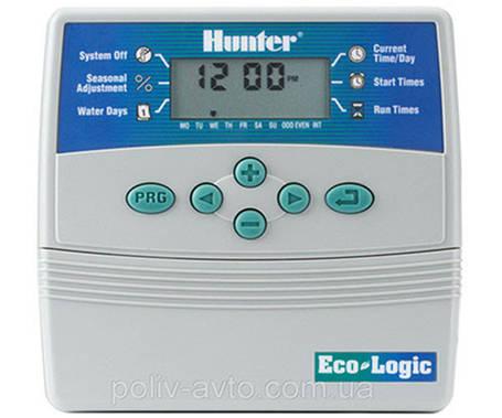 Контроллер управления поливом Hunter ELC 401i-E.для управления 4 - мя зонами полива(внутренний), фото 2