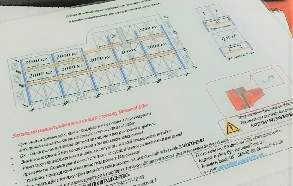 Проектирование стеллажных систем