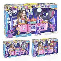 Игровой набор Замок Пони световые и звуковые эффекты