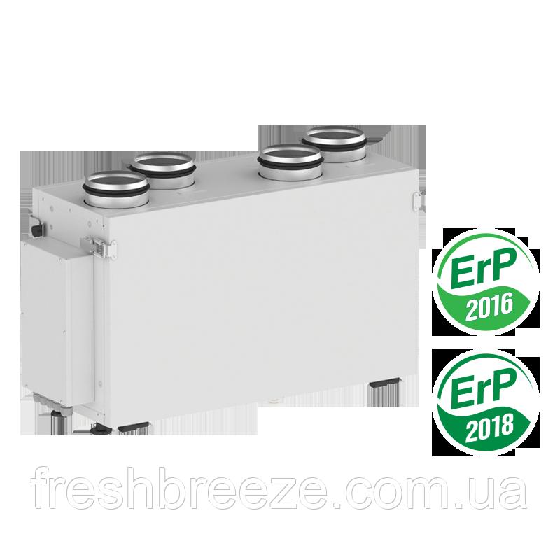 Приточно-вытяжная установка с рекуперацией тепла Вентс ВУЕ 300 В2 міні ЕС А2