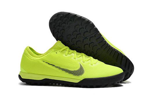 bcecaaed Купить Футбольную сороконожку Nike Mercurial Vapor Fury XII Pro TF  Volt/black от производителя |