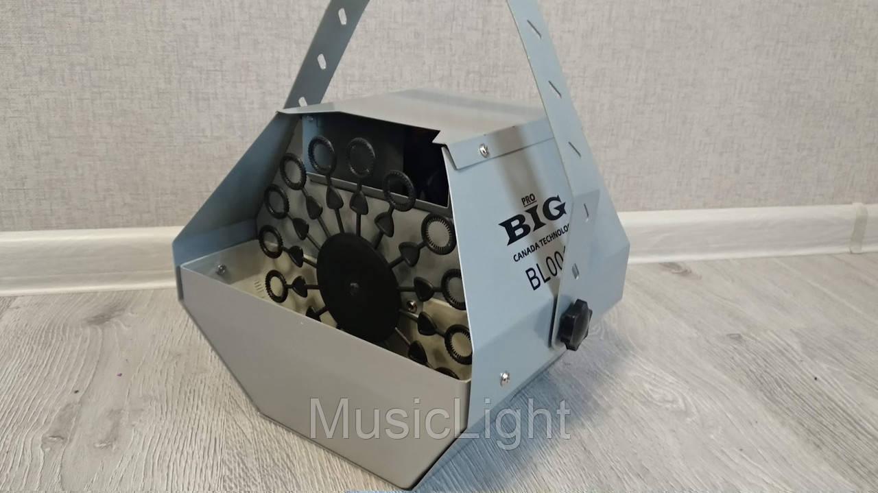 Генератор мыльных пузырей Big BL001 (металл. корпус)