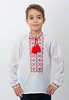 Вышиванка для мальчика с длинным рукавом, арт. 4412