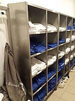 Шкаф для раздевалки из нержавеющей стали