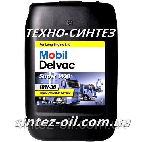 Моторное масло Mobil Delvac Super 1400 10W-30 (20л)