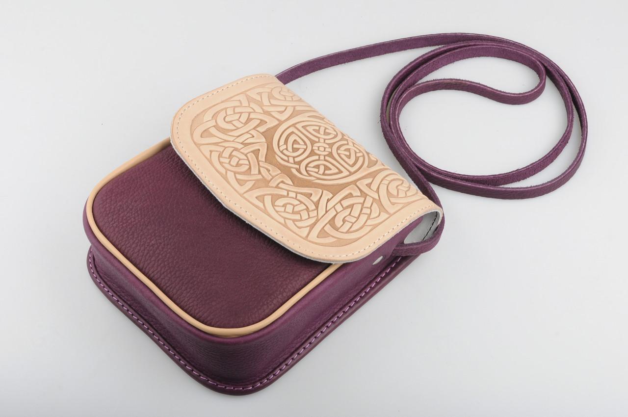 Маленькая кожаная сумочка d61e6d85c8492