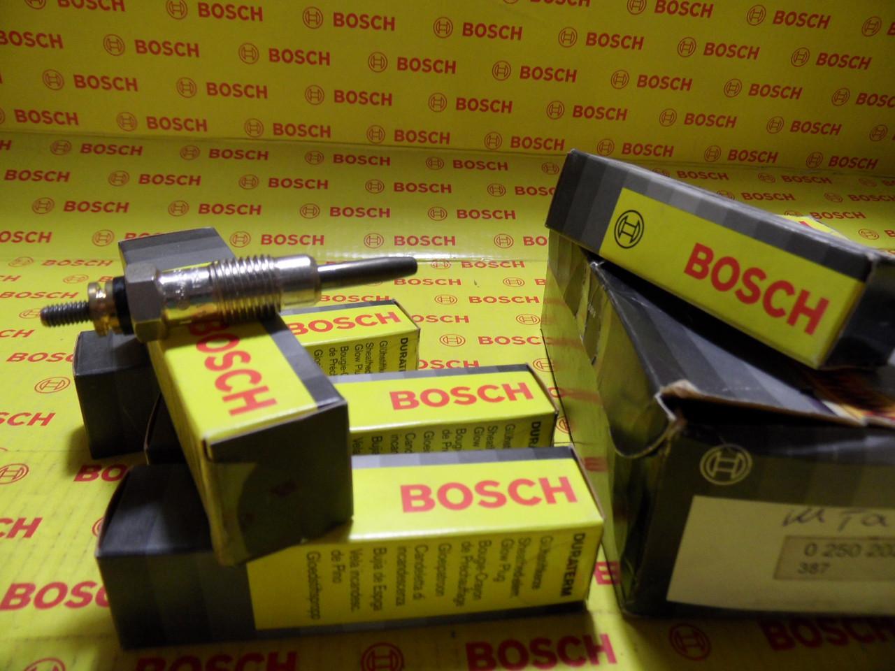 Свечи накаливания Bosch Duraterm, 0250202001, 0 250 202 001
