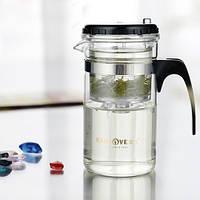 Чайник заварочный с кнопкой Kamjove TP-120, 200 мл, фото 1