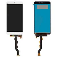 Дисплейный модуль (дисплей + сенсор) для Xiaomi Mi Note, белый, оригинал