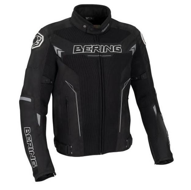 Куртка BERING текстиль MISTRAL black (XXL), арт. BTB618 (шт)