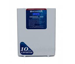 Стабилизатор напряжения 5 кВт, однофазный UNIVERSAL 5000