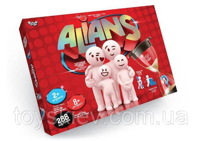 Игра ALIANS (Альянс, Пойми меня, Alias) на русском Danko Toys.