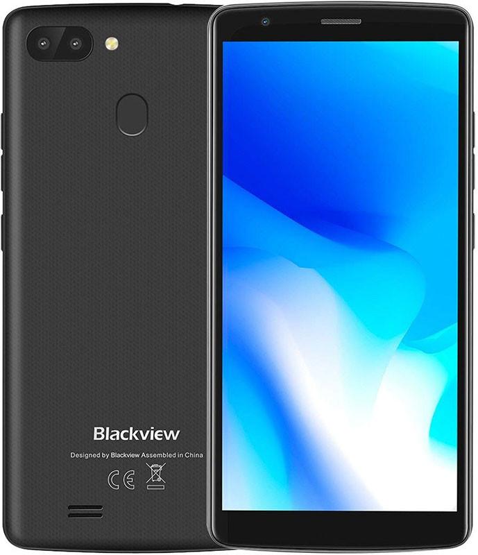 "Смартфон Blackview A20 Pro 2/16Gb Black, 8+0.3/5Мп, 5.5"" IPS, 2SIM, 4G, 3000мАh, 4 ядра"