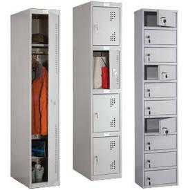Одежные шкафы и камеры хранения Алюр +
