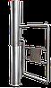 Турнікет– хвіртка GATE -TSH, н/ж полірована, лопать з труби 630 мм. Функція сервопривід.