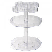 Органайзер для косметики Beauty Box 3D Rotating Frame 7006, фото 1