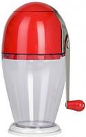 """Подрібнювач """"Економ"""" пластиковий механічний для льоду H 230 мм"""