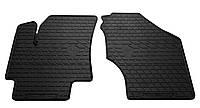 Коврики в салон резиновые передние для Hyundai Accent 2006-2010 Stingray (2шт)